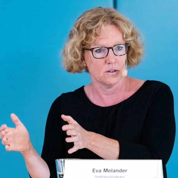 Eva Melander, smittskyddsläkare i Skåne.