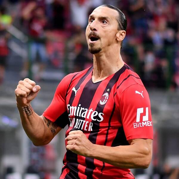Zlatan Ibrahimovic måljublar i comebacken mot Lazio förra veckan.