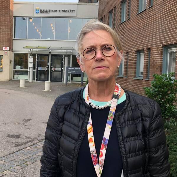 Pia Johansson, lagman Halmstads tingsrätt.