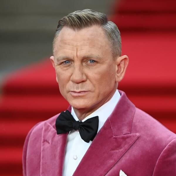 Brittiske skådespelaren Daniel Craig
