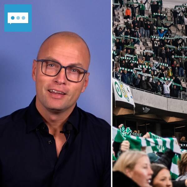 Markus Johannesson om publikrekordet i damallsvenskan.