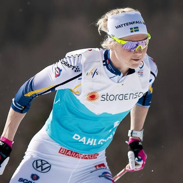 Maja Dahlqvist satsar mot OS, bland annat med stöd från pojkvännen Kevin Bolger.