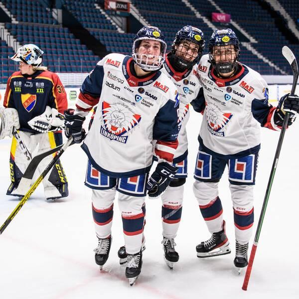Linköping besegrade Djurgården med 2-0.