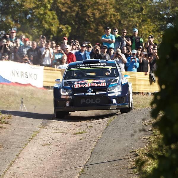 Sebastien Ogier i tyska VM-rallyt.