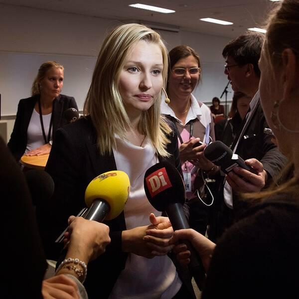 Kristdemokraterns partiledare Ebba Busch Thor.