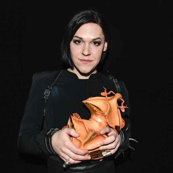 Saga Becker belönades med Guldbaggen för Årets kvinnliga huvudroll för sin första film.
