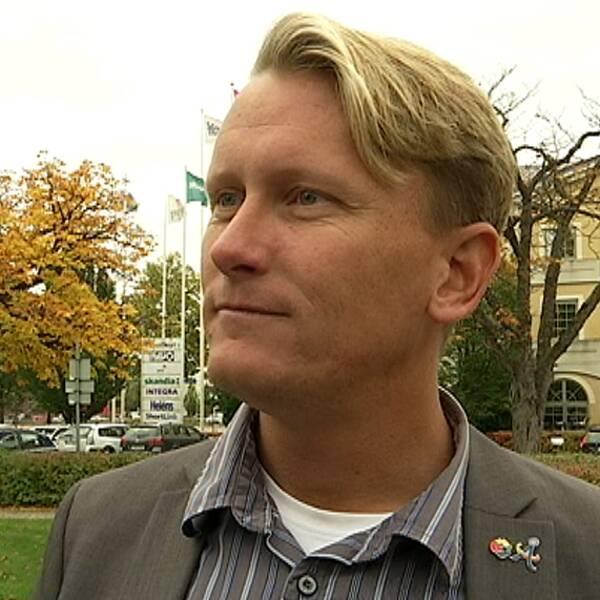 Kommunalrådet i Årjäng, Daniel Schützer (S)