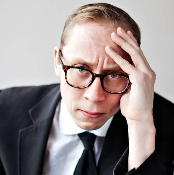 """Kristoffer """"Kringlan/K."""" Svensson är författare och komiker."""