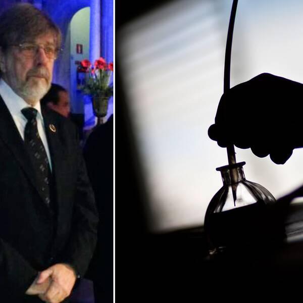 Ingemar Dackéus och hans fru blev inbjudna till Nobelmiddagen för sju år sedan. En mäktig upplevelse, enligt honom själv.