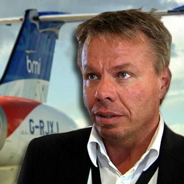 Peter Landmark, vd för Karlstad Airport avgår.