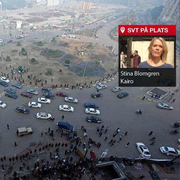 Tahirtorget i Kairo.