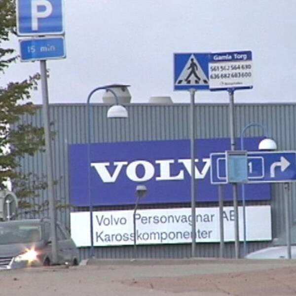 Volvo i Olofström.