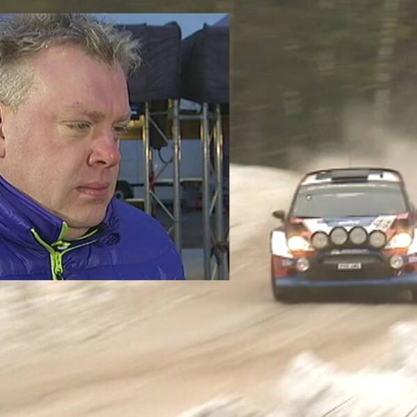 Jonas Kruse, SVT:s rallyexpert
