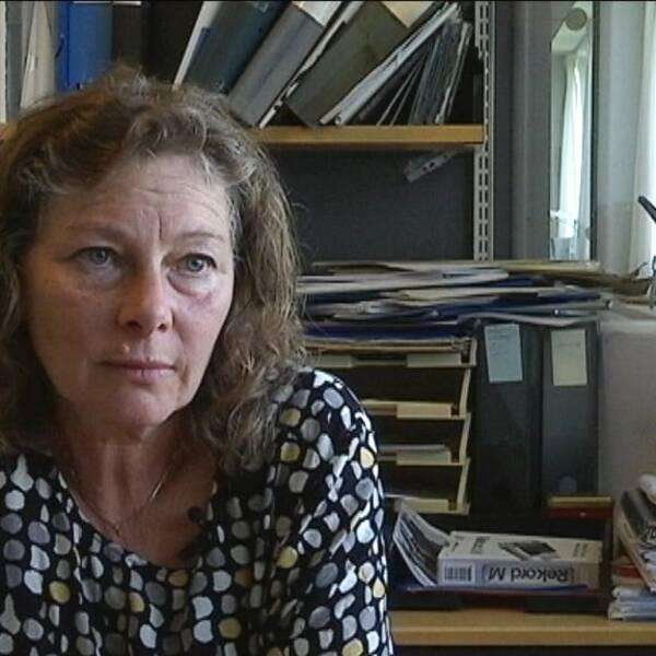 Marta Szebehley, professor i socialt arbete.
