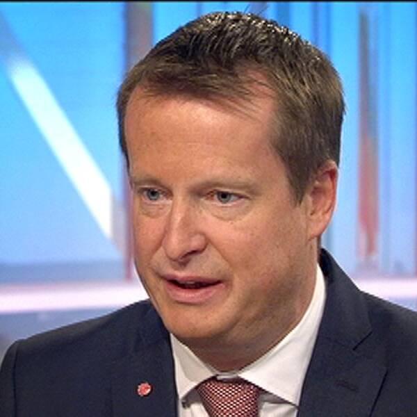Inrikesminister Anders Ygeman (S.