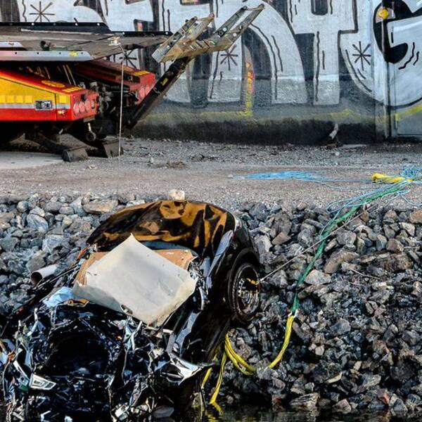 Viola Beachs bil skdades inte av båten