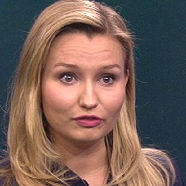 Ebba Busch Thor (KD) i debatt med Gustav Fridolin i Aktuellt 21