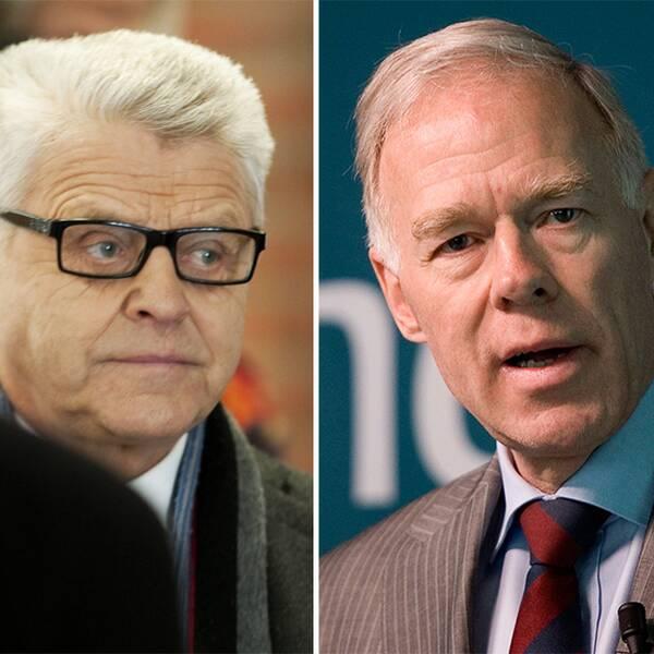 Erik Paulsson, grundare av byggföretaget Peab, tidigare Teliachefen Anders Igel och Anders G Carlberg, tidigare vd i Nobel.