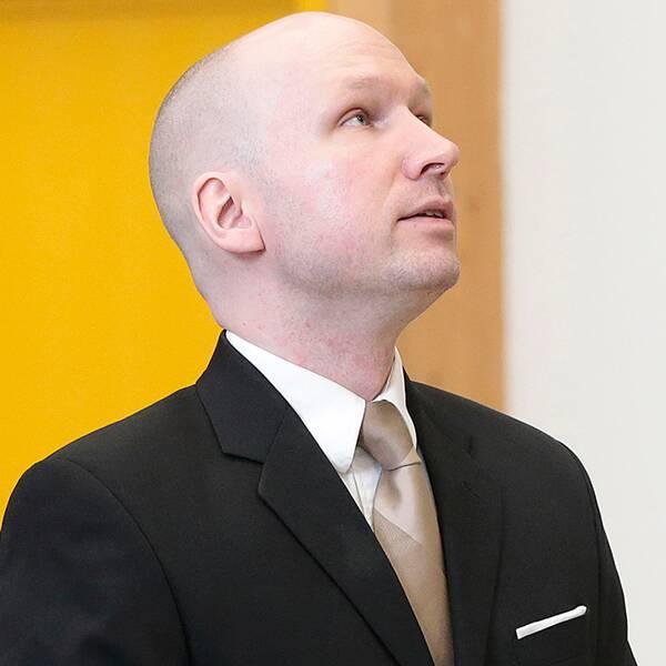 Anders Behring Breivik i fängelset i Skien.