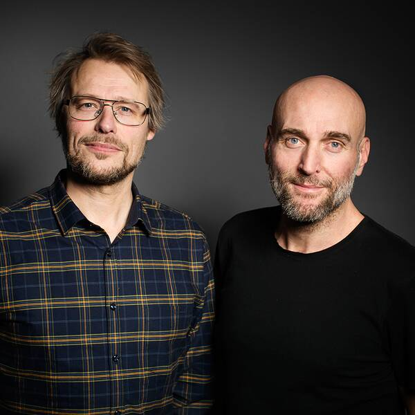 Sven Bergman och Joachim Dyfvermark.