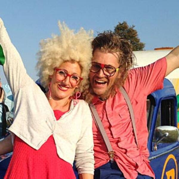 Jecko och Jessie fick avbryta showen på UKK.