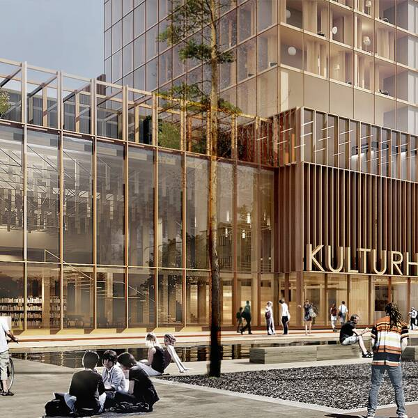 Kulturhus Skellefteå.