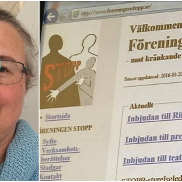 Eva Jorendal, föreningen STOPP