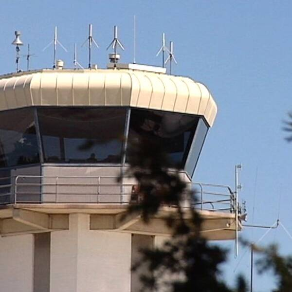Flygledartornet på Visby flygplats