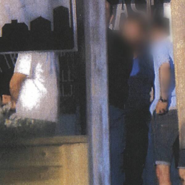 Polisen hade spaning på matchfixaren då han var misstänkt för narkotikabrott när han hade möte med fotbollsdomaren.