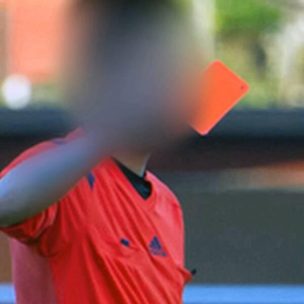Domaren träffade matchfixaren några dagar innan matchen där han dömde sju gula kort, två utvisningar och fyra straffsparkar.