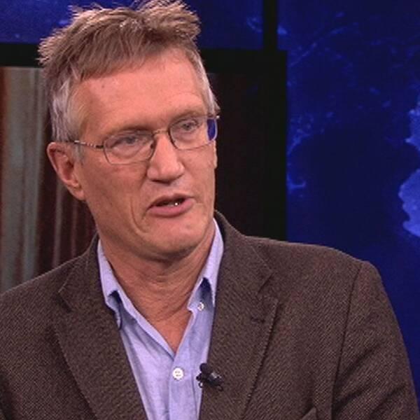 Anders Tegnell, statsepidemiolog hos Folkhälsomyndigheten.