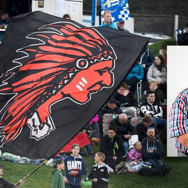 Publik och Dan-Åke Moberg.