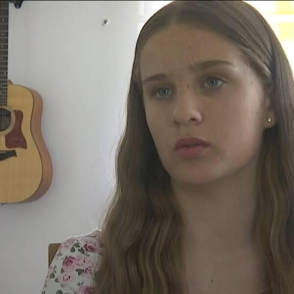 Selma är en av de narkolepsidrabbade