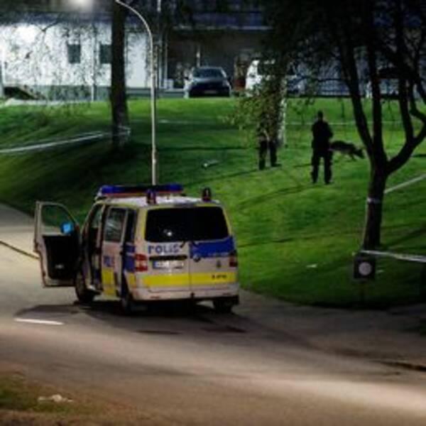Polis knivskuren i Borås