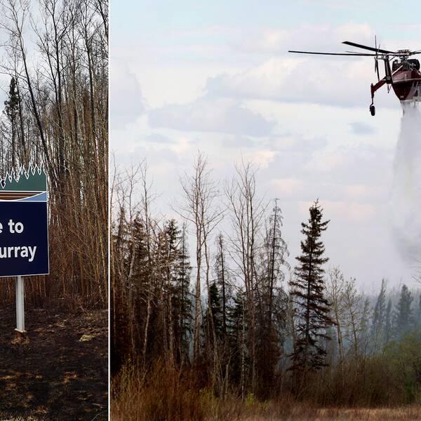 Skogbranden i Fort McMurray