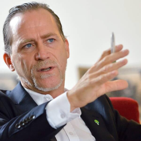Trafikborgarrådet Daniel Helldén (MP).