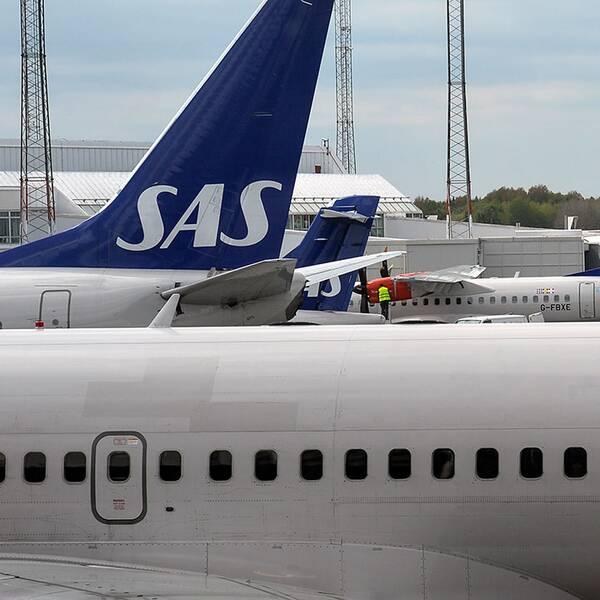 Många flyg blev försenade efter datorhaveri.