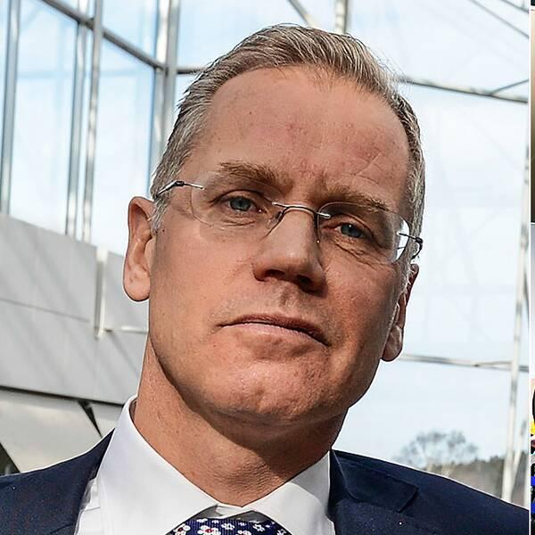 SAS vd Rickard Gustafson ber passagerarna om ursäkt för de problem som strejken orsakar.