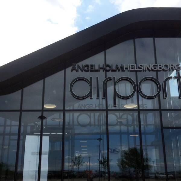 Ängelholm Helsingborg Airport, Ängelholm flygplats