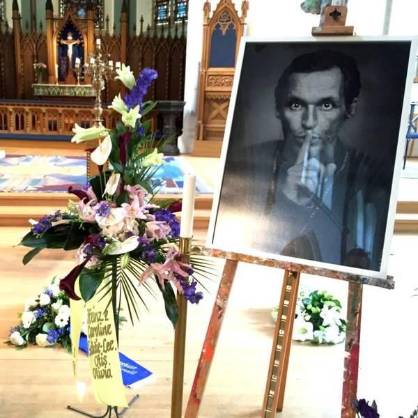 Olle Ljungström, begravning, hagakyrkan