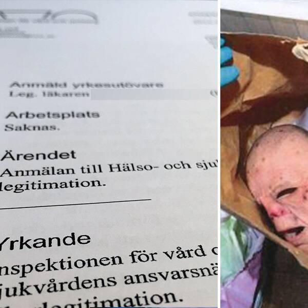 Bunkerläkaren riskerar att bli av med legitimation