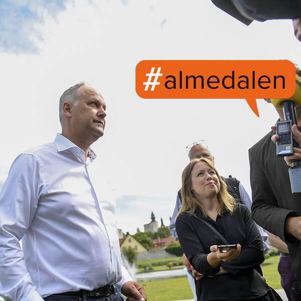 Jonas Sjöstedt (V), 10 juli 2016, Almedalen, Visby
