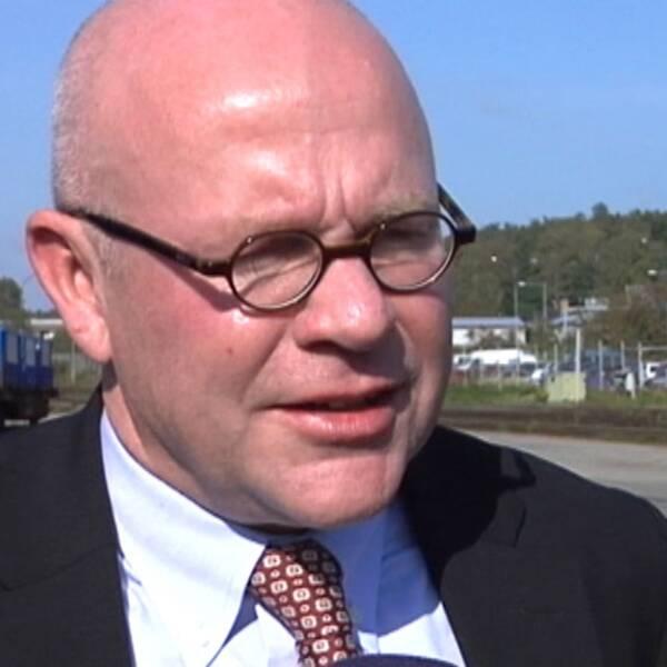 Vd:n för Stena Metall, Anders Jansson.