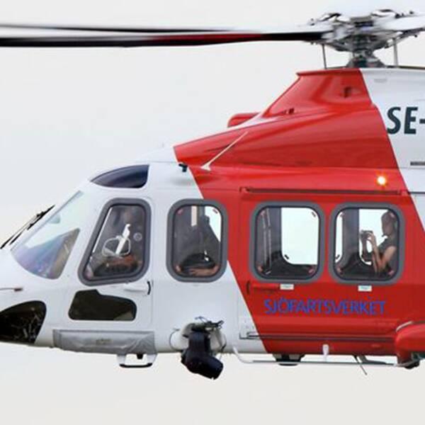 Sjöfartsverket får kritik av Konkurrensverket efter helikopteraffären