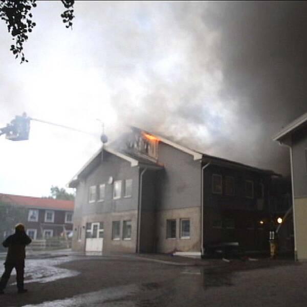 Växjö islamiska skola brand
