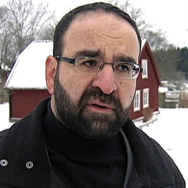 Mehmet Kaplan, Miljöpartiets gruppledare i riksdagen. Foto: SVT
