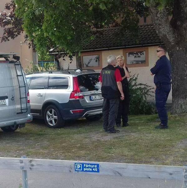 Misstänkt mord på Sämskarbogatan i Enköping.