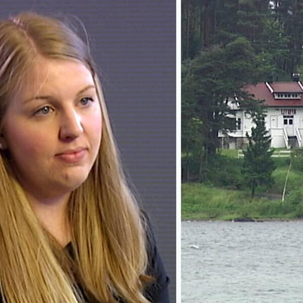 Siri Marie Seim Sønstelie överlevde terrordådet på Utöya.