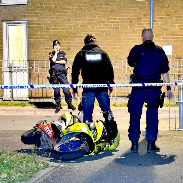 En person utsattes för ett mordförsök på Rosengård natten till torsdag