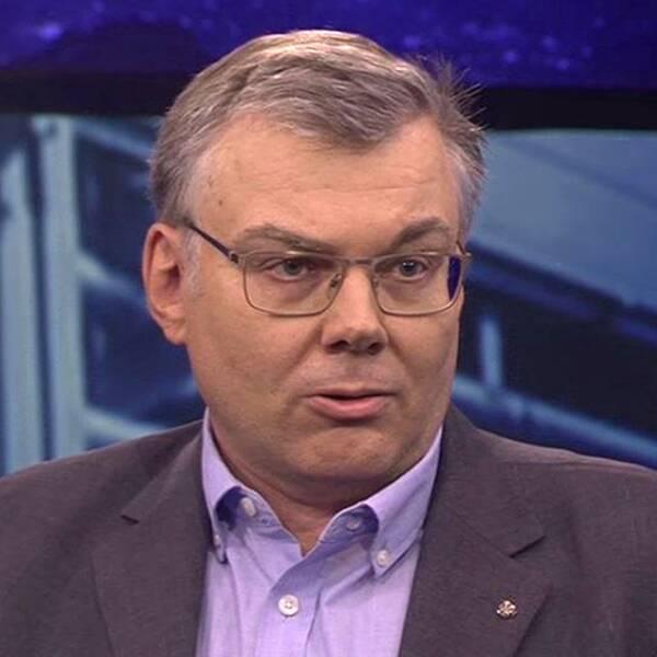Johan Beck-Friis, informationschef hos Veterinärförbundet